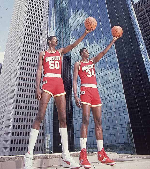 Twin Tower days prior to Olajuwon's obliteration of Orlando