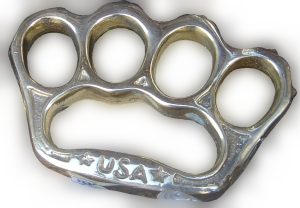 Brass knuckles - zach randolph