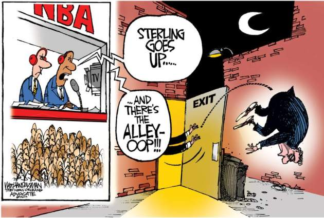The work of Walt Handelsman
